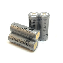 10pcs/lot TrustFire TR 18500 1800mAh 3.7V Rechargeable Protected Battery Camera Flashlight Torch Batteries with PCB