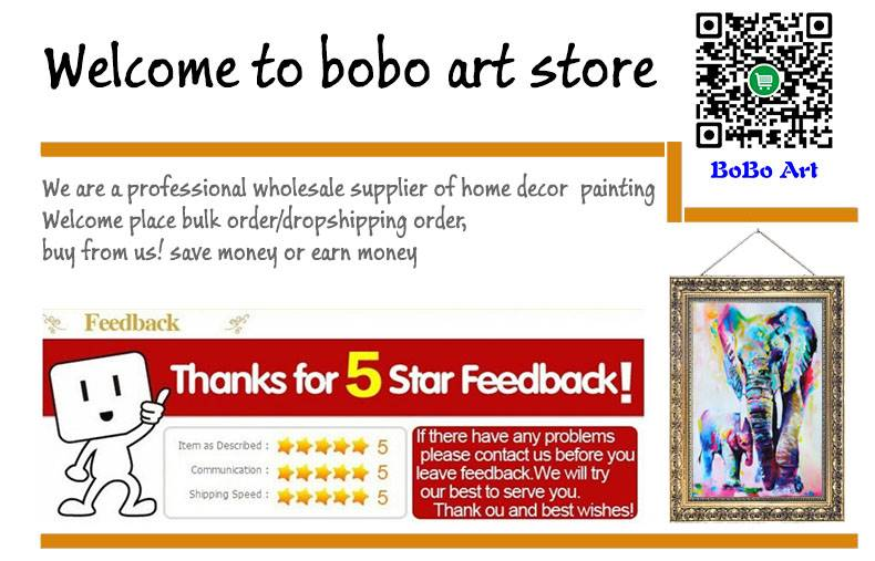 bo bo art, Canvas Prints supplier