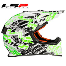 2016 Newest Cross Helmet Professional off road helmet LS2 MX 437 Bluetooth competiable motorbike helmet DOT ECE Approved casco
