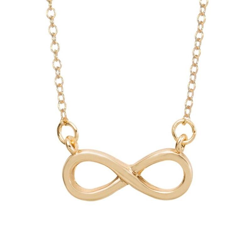 Minimalist Infinity Shape Necklace