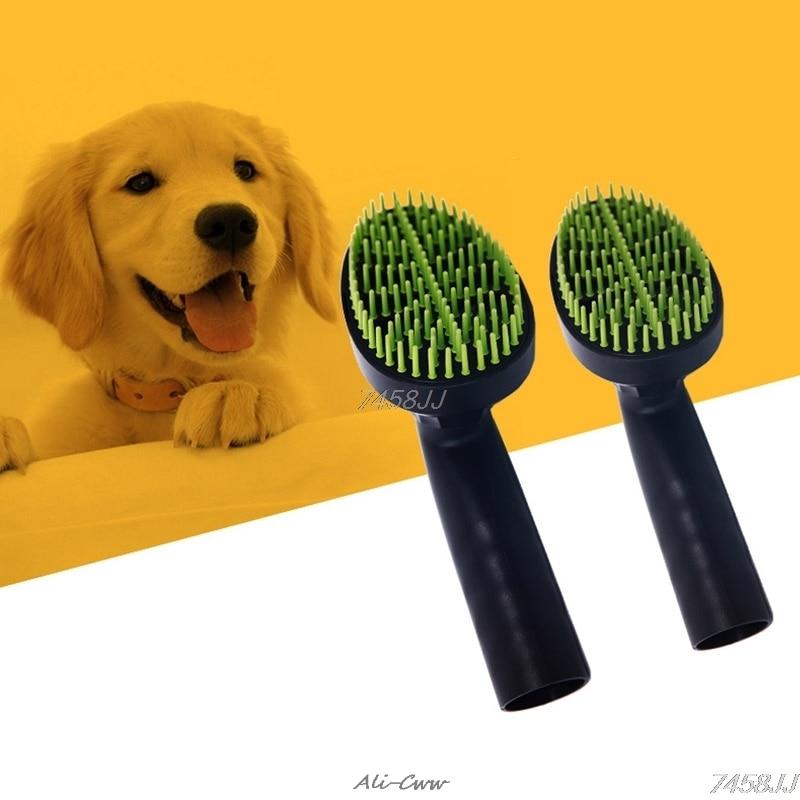 Home Appliances Pet Vacuum Cleaner Brush Nozzle Accessories 32mm Dog Cat Massage Hair Comb Tools Mar28
