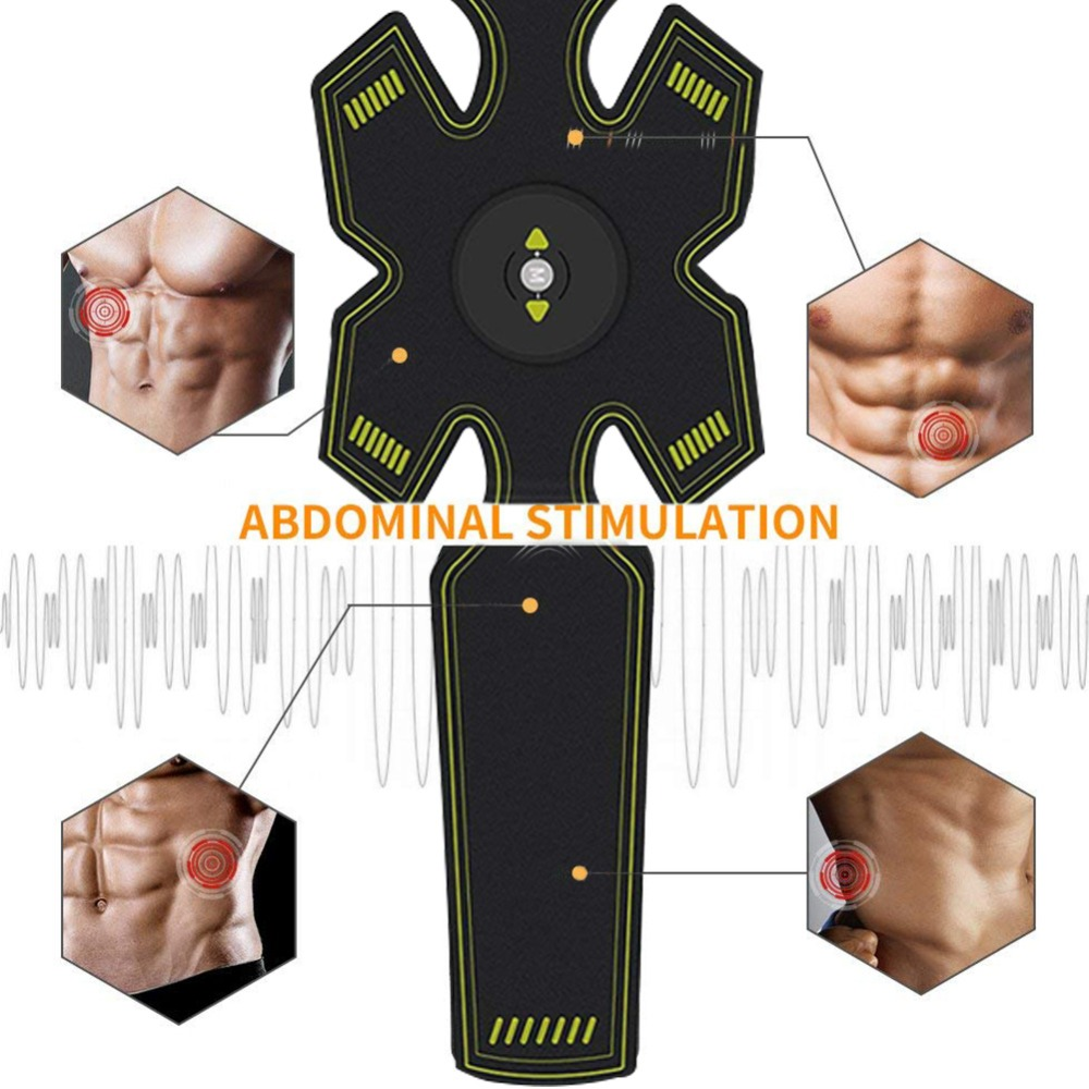 Vibration Abdominal Muscle Trainer  (7)