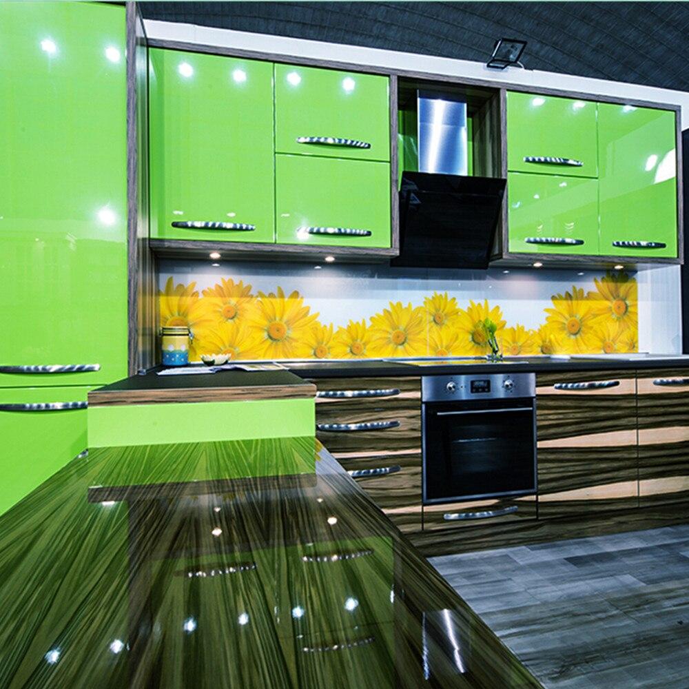 paredes de cocina verde