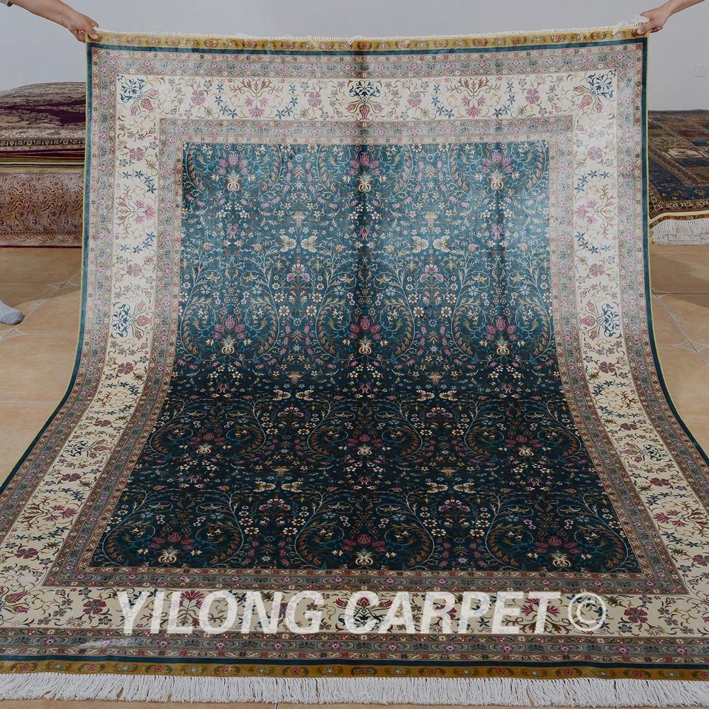 Yilong 5.9'x8.2 'Χειροποίητο παλιό - Αρχική υφάσματα - Φωτογραφία 1