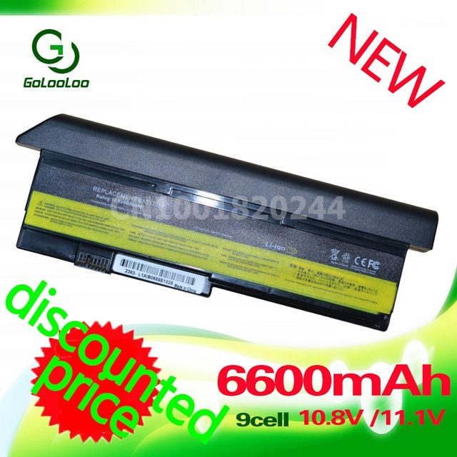 Golooloo 9 Cell Battery for IBM Lenovo ThinkPad X200 X201 X201s 42T4834 42T4835 42T4537 43R9254 43R9255 42T4536 42T4541 42T4538