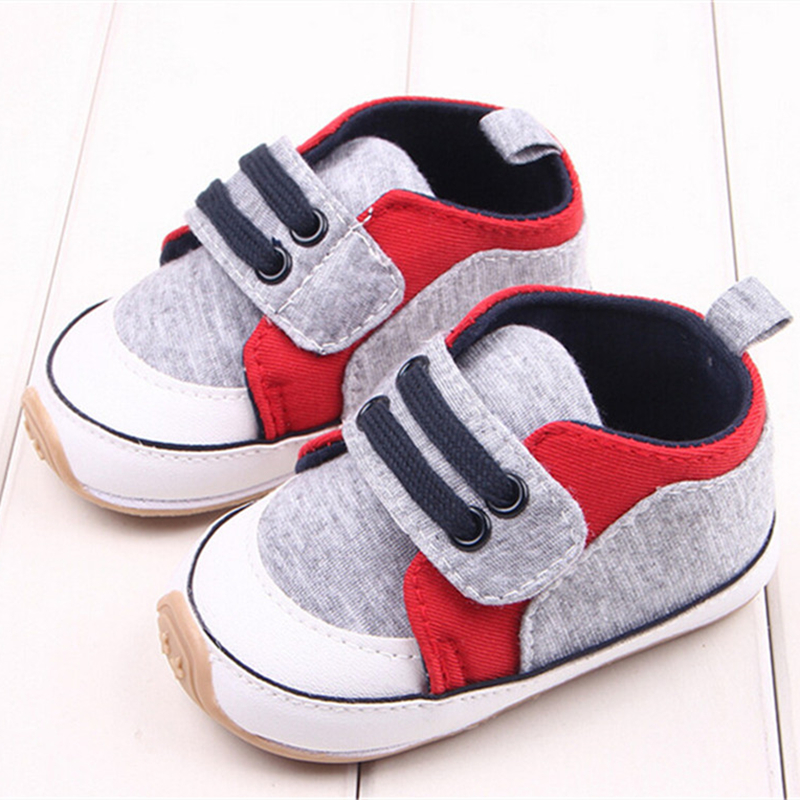b3e3068d3 1 par Sapatos Mocassins Bebê de Algodão Anti-slip de Borracha Inferior Do Bebê  Bebê Recém-nascido firstwalker Sapatos Infantis Esportes Sneaker Calçado