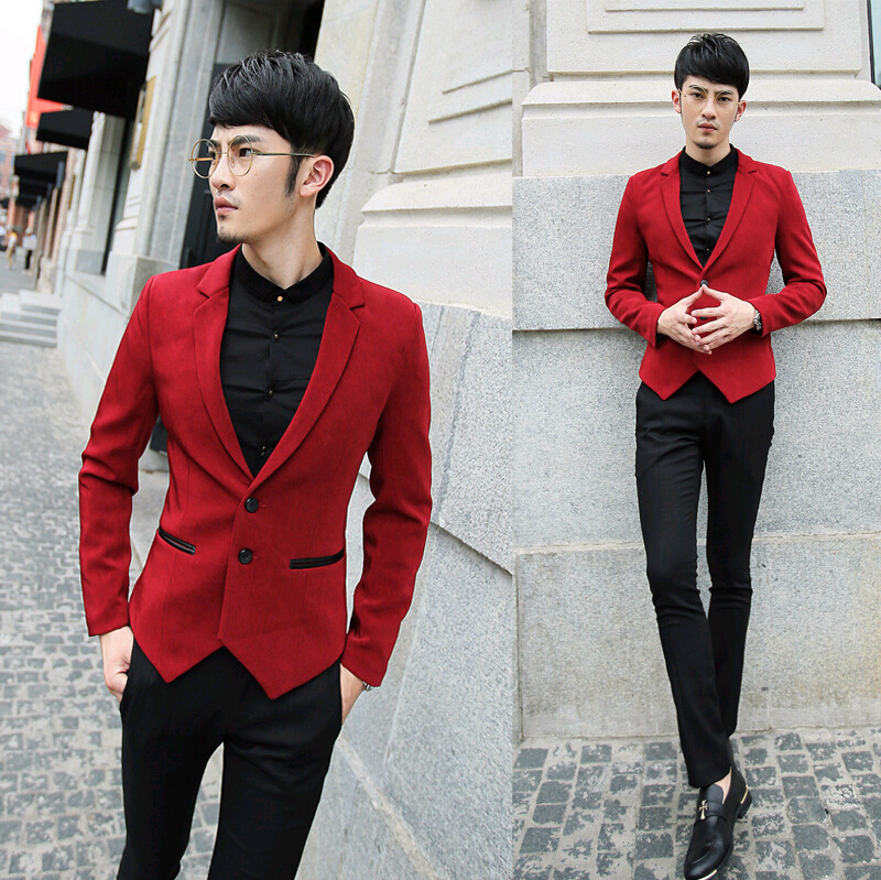 Aliexpress.com : Buy 2016 leather patchwork slim fit mans jackets