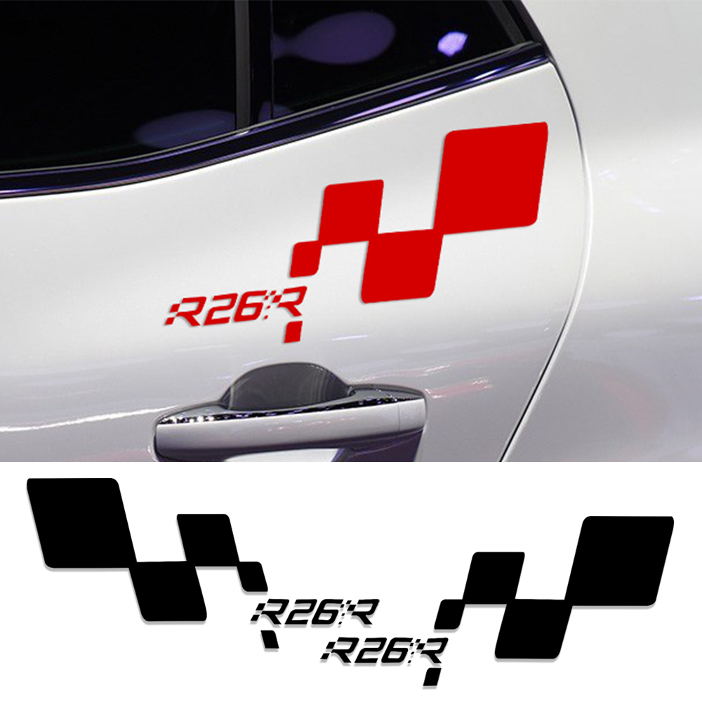Renault Megane R26r: Reflective Car Styling R26R Door Racing Side Car Sticker