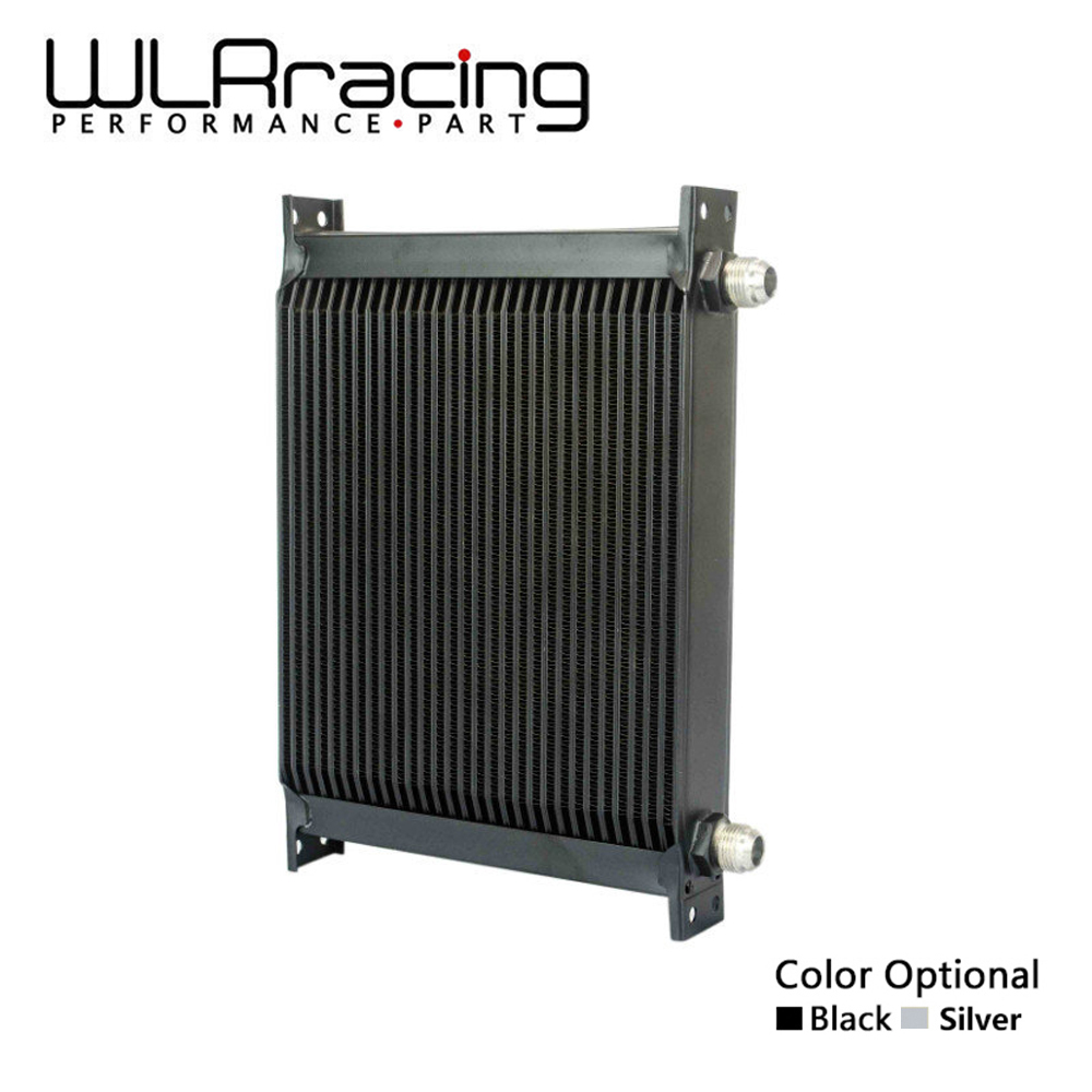 WLR RACING - 30 ROW AN-10AN UNIVERSAL ENGINE TRANSMISSION OIL COOLER WLR7030 vr racing 16 row an 10an universal engine transmission oil cooler vr7016 2