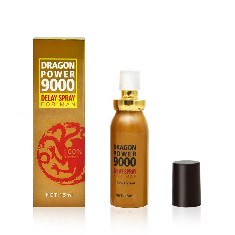 DRAGONPOWER Male Sex Delay Spray,men Delay Cream 60 Minutes Long,prevent Premature Ejaculation,penis Enlargement Erection Spray