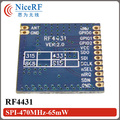 2pcs/lot   RF4431 Embedded Wireless Transceiver Module -118dBm Sensitivity FSK/GFSK/OOK 470MHz Front-end Module