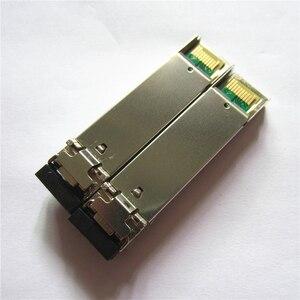 Image 2 - SFP מודול BiDi 1.25G יחיד מצב סימפלקס TX1310nm/RX1550nm WDM SFP משדר מודול פונקצית DDM עם SFP מתג מודול