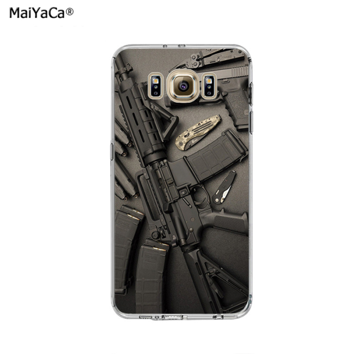 Cellphones & Telecommunications Phone Bags & Cases Nice Weapons Rifle Guns Sniper Pistol Bullet Cell Phone Case Cover For Samsung Galaxy S9 S7 Edge Plus S8 S6 S5 S4 S3 Mini