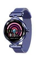 H1 Женская мода смарт-браслет сердечного ритма измерять кровяное давление фитнес-трекер для Android IOS Водонепроницаемый Смарт часы с встроенны...