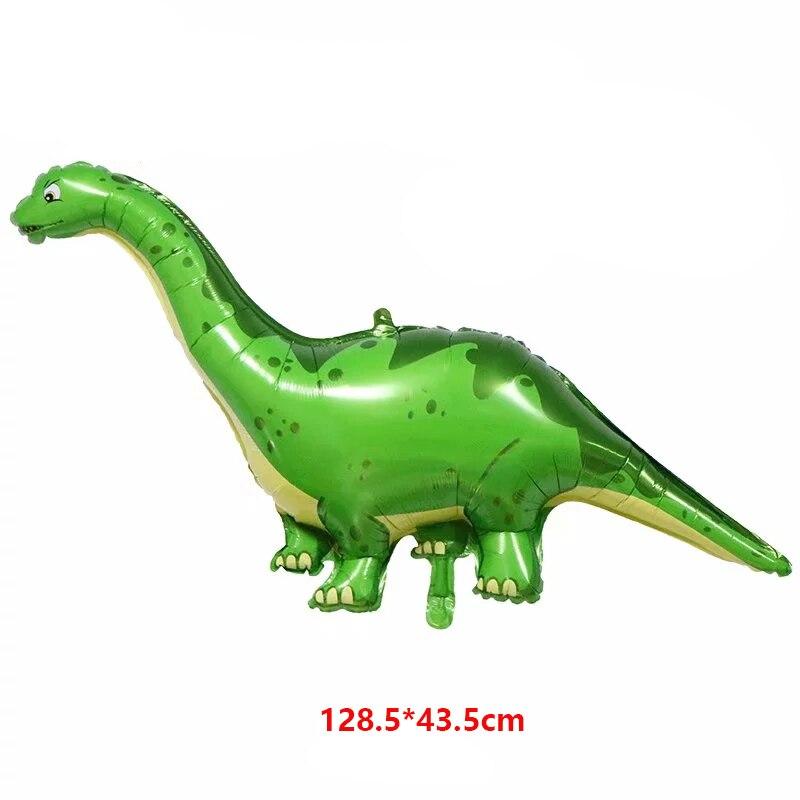 50 ชิ้นขนาดใหญ่บอลลูนไดโนเสาร์การ์ตูน Tyrannosaurus Rex บอลลูนสำหรับทารกฝักบัววันเกิดสัตว์ป่าตกแต่ง Globos-ใน ลูกโป่งและเครื่องประดับ จาก บ้านและสวน บน   3