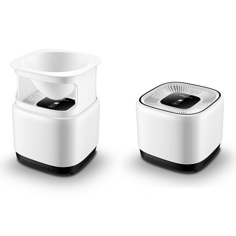 Micro Ecology Mini Ionic Air Purifier Negative Ion Generator Aroma Air Freshener Triple Filter HEPA Air