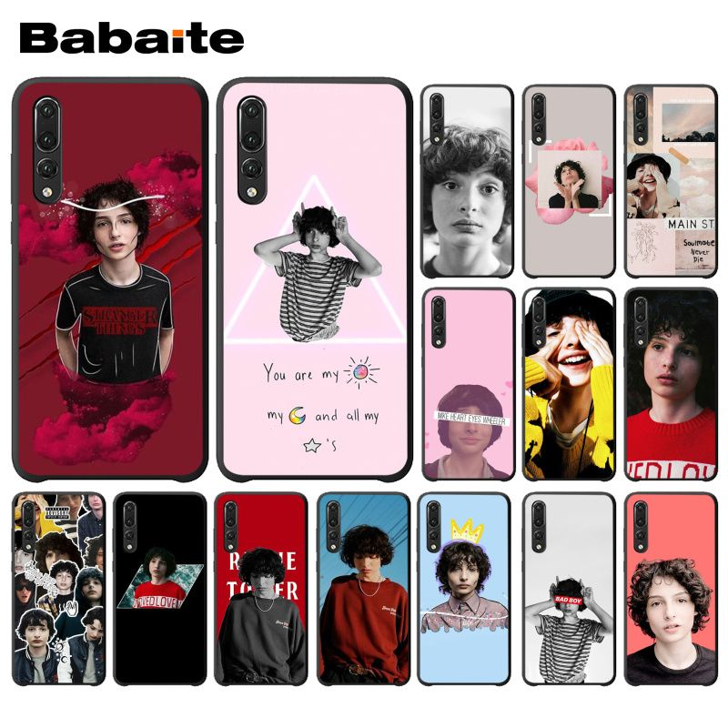 Babaite TV Finn Wolfhard <font><b>Stranger</b></font> <font><b>Things</b></font> <font><b>Phone</b></font> <font><b>Case</b></font> Shell for <font><b>Huawei</b></font> <font><b>P20</b></font> Mate20 <font><b>Lite</b></font> Honor Play 8A 8C 7C 5A Y6 Y5 II Psmart image