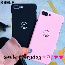 KSELF Simple Soft TPU Lovely Case For iPhone 7 Plus 6 6s 8 X XR XS MAX Solid Color Ultrathin Macaron Candy Back Cover
