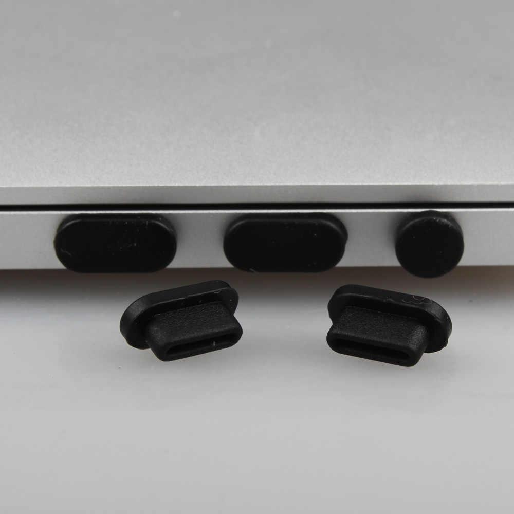 Silicone Anti-Stof Stekkers Poorten Case Cover Voor Macbook 12 Siliconen Laptop Stof Plug Voor Nieuwe Macbook Pro 13/15 met Touch Bar