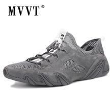 Moda wygodne męskie obuwie mokasyny męskie buty ze skóry naturalnej płaskie buty męskie gorąca sprzedaż miękkie mokasyny skórzane buty tanie tanio MVVT Krowa Zamszu RUBBER MVVT#3579 Lace-up Pasuje prawda na wymiar weź swój normalny rozmiar Stałe Dla dorosłych Oddychające