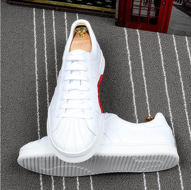Placa Branco Dos Respirável Tendência Sapatos Sneakers Da Estudantes Zapatos 2018 Coração Casual De Homens Hombre Moda Loving Sapatas Nova vR8Zqxq