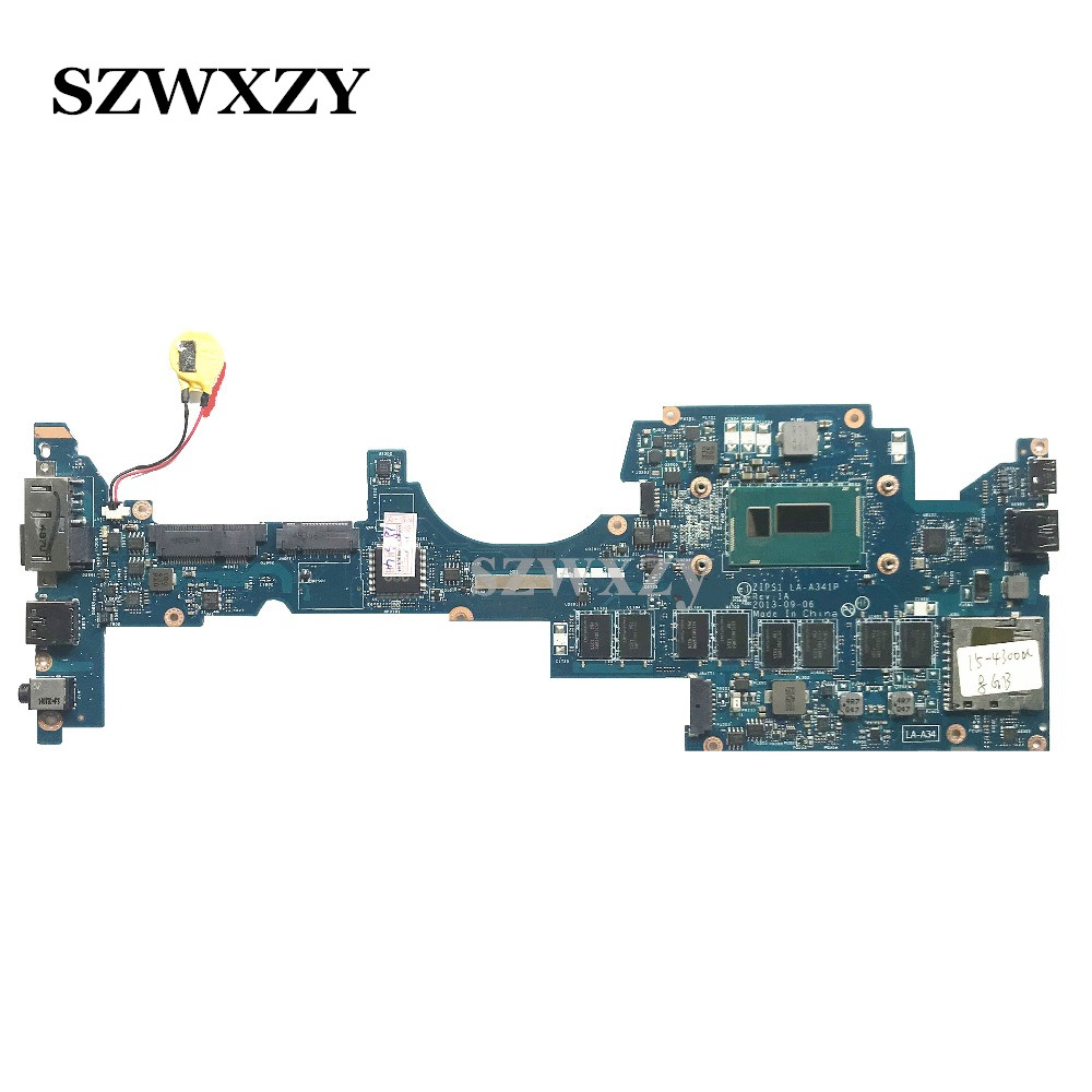 Classy Laptop Motherboard For Lenovo Yoga S1 Series i5 4300U Processor 8GB 04X5496 LA A341P Full