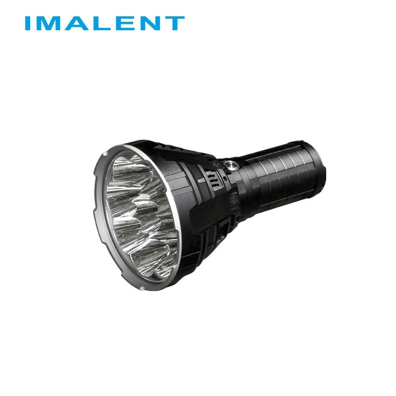 2019 IMALENT R90C LED Flashlight CREE XHP35 HI Hight Lumens Waterproof Flash lights with Battery for Outdoor Search Light-in LED Flashlights from Lights & Lighting