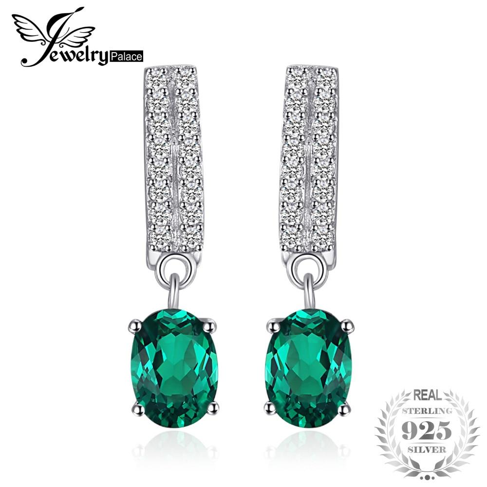Jewelrypalace Bornstone 1.7ct البيضاوي نانو - مجوهرات راقية
