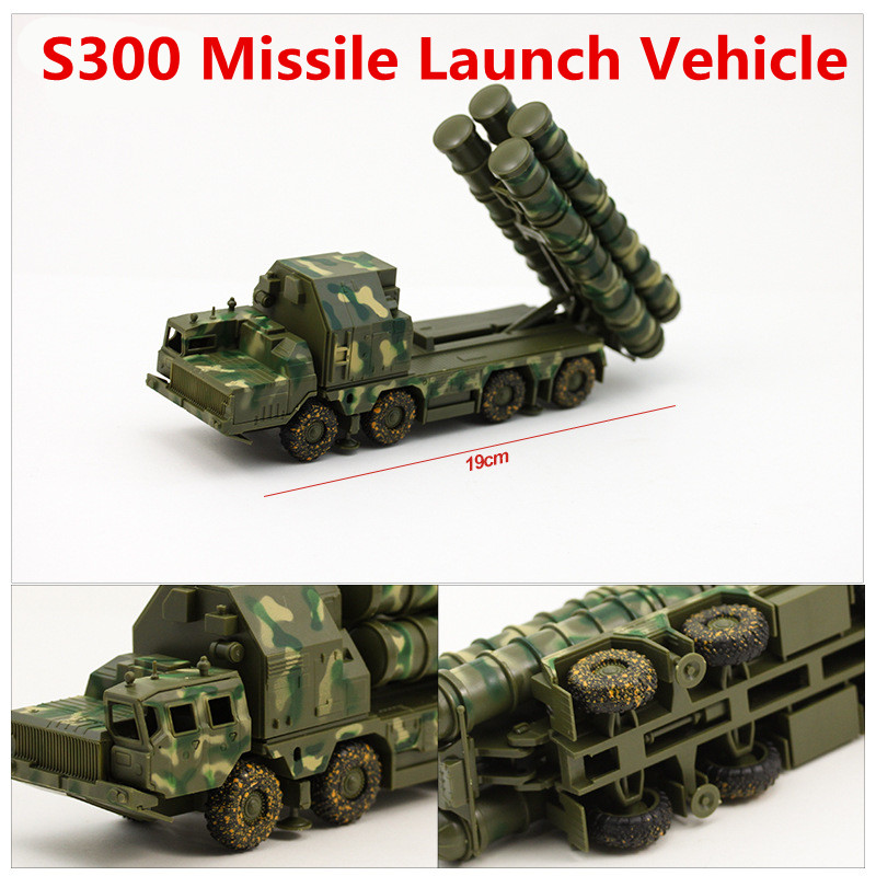 1:72 alloy car models, high simulation S300 missile launch vehicle model, plastic diecasts, toy vehicles, free shipping