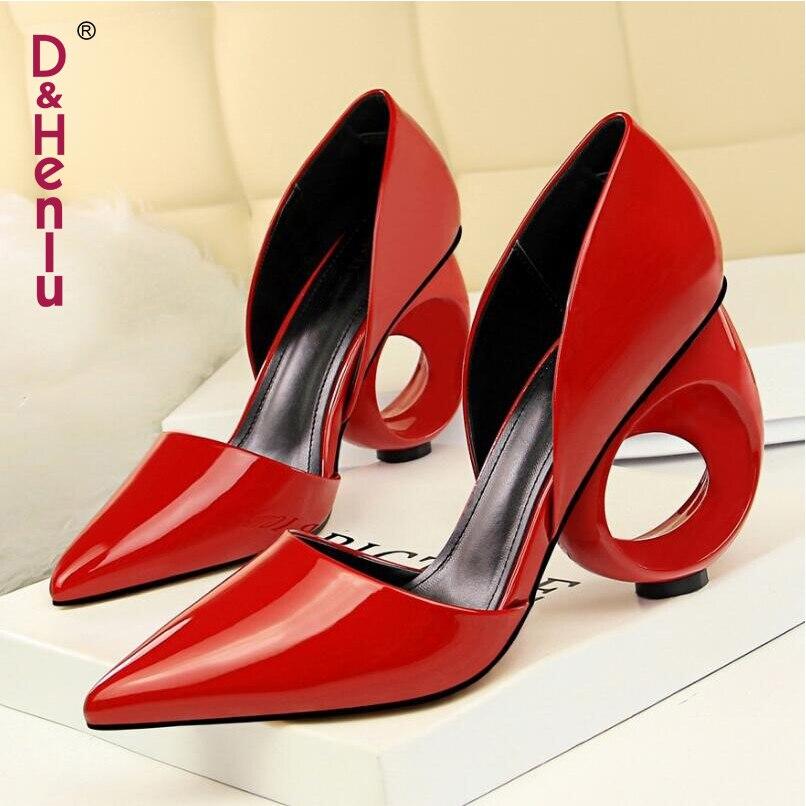 Cm Rouge Talons blanc Chaussures Confortable Bout Perle Femme vin 5 Pointu Femmes Hauts Pompes Nouvelle À Mi Noir 2018 Vintage nu Épais Talon rouge nqqXwBRa