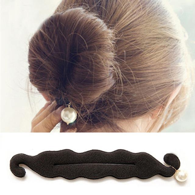 Magic Tools for Messy Hair Bun Long Hair