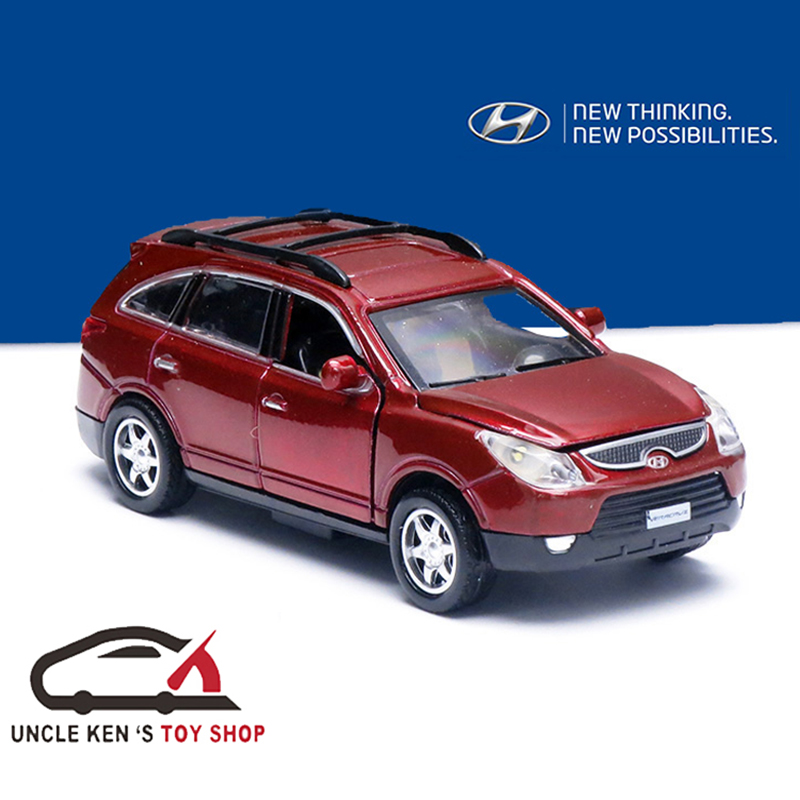 15CM Hyundai Veracruz Diecast Replica Scale Model Toys As Childrens' Gift Car With Functions