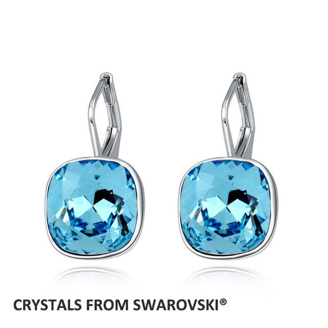 2016 recién llegado caliente pendientes con SWAROVSKI ELEMENTS cristal austriaco regalo de san valentín para mujeres