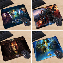 Babaite Starcraft 2 Movie Tv Poster Custom High Quality Cloth Rubber Desktop Laptop Comfortable 18*22cm and 25*29cm Gaming