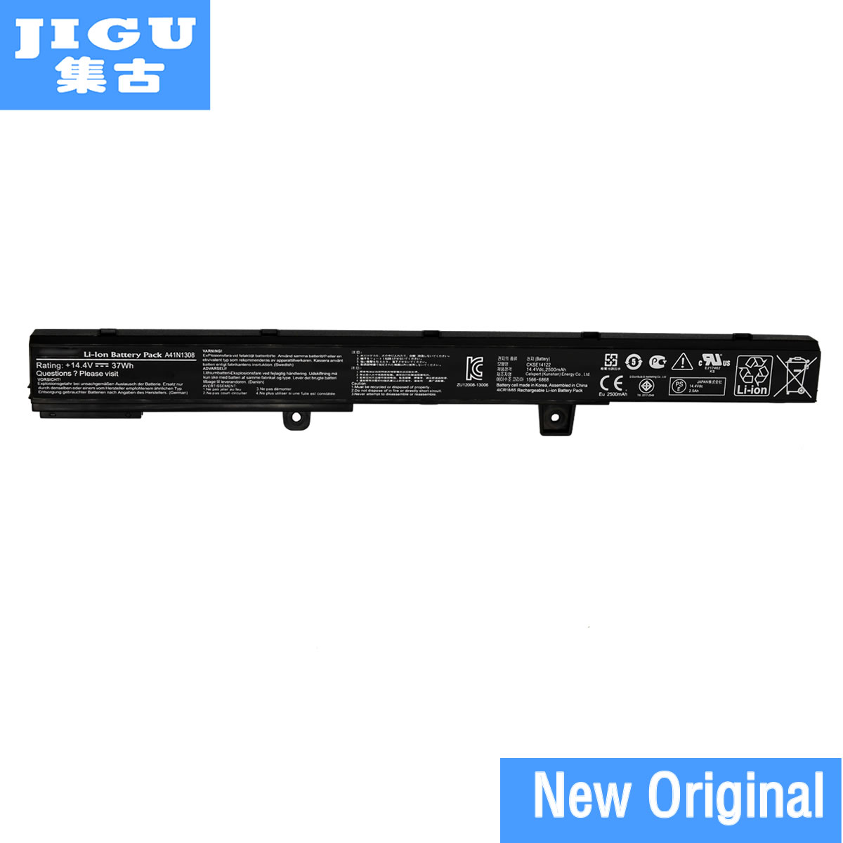 JIGU A31N1319 A41N1308 Original laptop Battery For Asus X451 X451C X451CA X551 X551C X551CA D550M D550MA