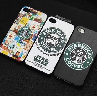 1 piece Starbucks coffee phone case iphone 4 4G 4S protective apple 4,Frosted shell - Ebayshop Electronic Co., Ltd store
