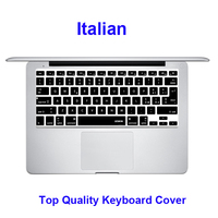XSKN Laptop Notebook Italian Silicone Keyboard Cover Skin Protector For Macbook 13 15 17 Factory Supply