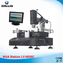 4500W LY-5830C touch screen BGA Welding Station Soldering machine hot air 3 zones for Laptop Motherboard Chip Repair,free tax RU