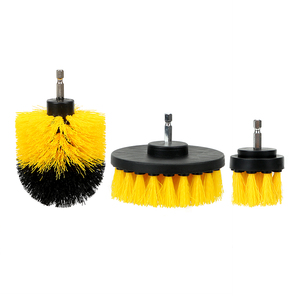 Image 4 - FORAUTO 3Pcs/set Auto Care Car Hard Bristle Brush Kit for Drill Scrubber Auto Detailing Car Brush Cleaning Tool Car Accessories
