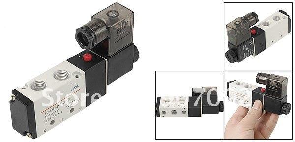 70 штук/партия, электромагнитный клапан Airtac 4V210-08 5 способов 2 Позиции одинарный соленоид клапан DC12V 1/4 ''высокое качество