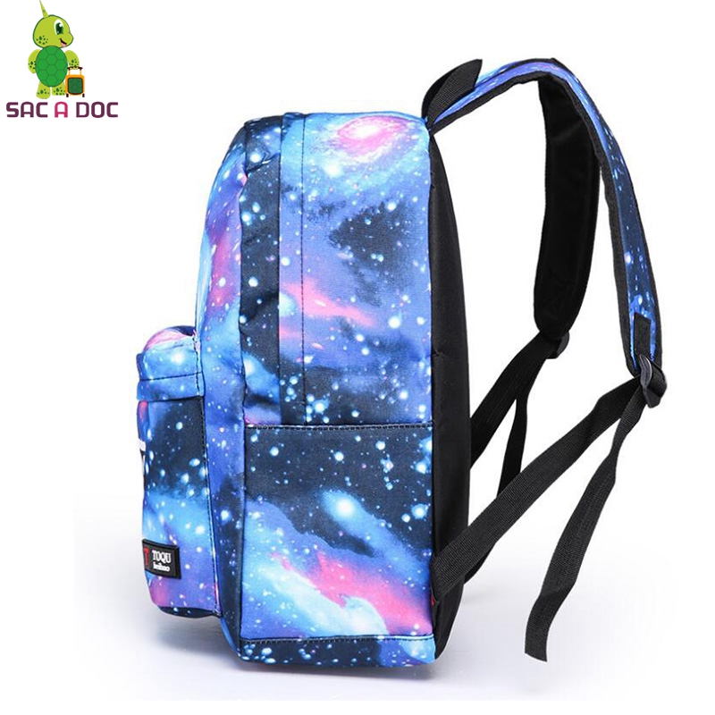 ... GhostbustersOne Punch Totoro Backpack Galaxy School Bags for Teenage  Girls Boys Students Book Bag Women Men  Anime One ... 4d56348dc5