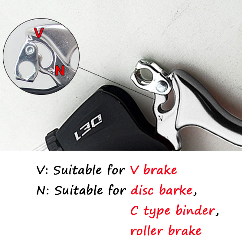 KS-DE1 Electric Bicycle Mountain Bike Refitted Electric Vehicle Power Off Brake Handle Full Aluminum Electric Brake Lever