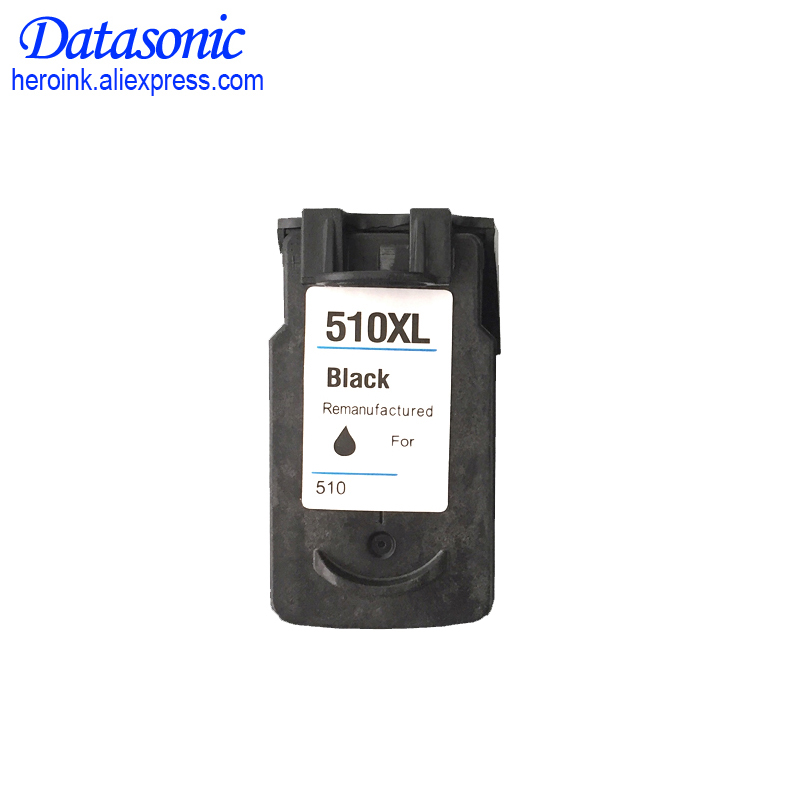 1pcs PG510 PG 510 PG 510 XL BLACK Ink Cartridge For Canon iP2700 Pixma MP250 MP270 MP280 MP480 MX320 MX330 MX340 MX350 PG 512