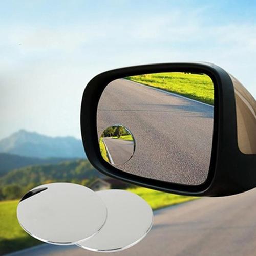 1 paire côté 360 grand Angle rond voiture véhicule style Angle mort Zone morte Auto rétroviseurs chaud réglable grand Angle V
