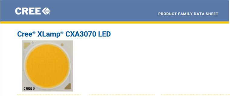 2pcs/lot US.CREE CXA 3070 Beads 117W High Power LED Chip 2700~3000K@5000~6500k  Pure white/Warm White 2pcs lot us cree cxa 3070 beads 117w high power led chip 2700 3000k 5000 6500k pure white warm white