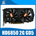 HD6850 2GB Original graphic card ATI Radeon HD6850 2GB GDDR5 Game Card HDMI VGA DVI port for desktop.