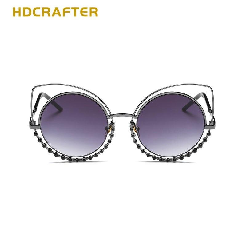 HDCRAFTER 2018 Brand New Senhoras Confortáveis óculos de Sol Olhos de Gato  Colorido Que Bling Strass Óculos Para As Mulheres ce8e1fb449