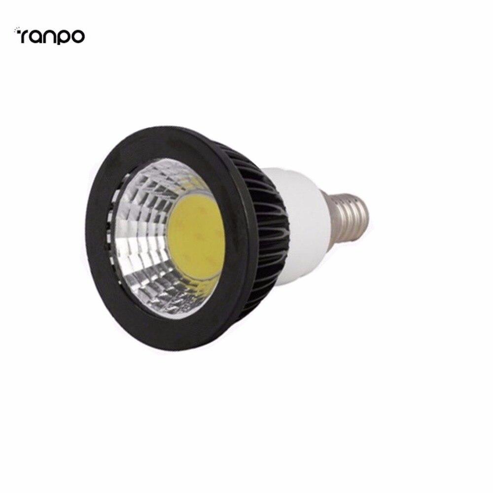 1pcs high power lamp e12 led cob spotlight dimmable 6w 9w 12w ac110v spot light bulb