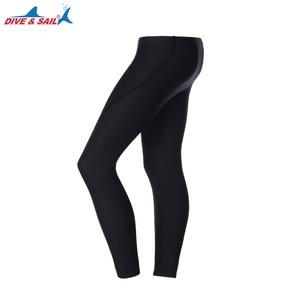 Image 2 - Dive&Sail 3mm neoprene diving pants Scuba Snorkeling Winter Warm Wetsuit Trousers Long Pants