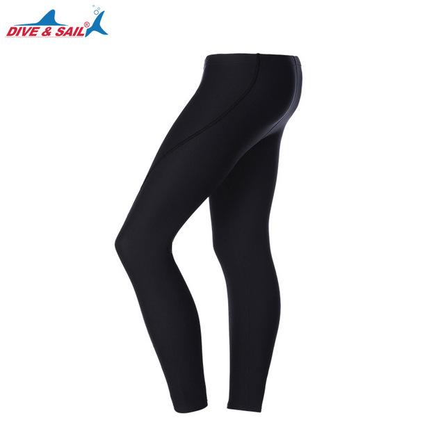 Dive&Sail 3mm neoprene diving pants Scuba Snorkeling Winter Warm Wetsuit Trousers Long Pants